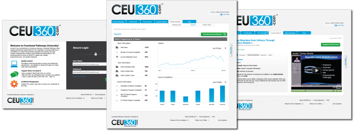 CEU360 Learning Management System
