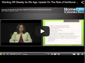 Warding Off Obesity As We Age: Update on the Role of Nutritional Exercise