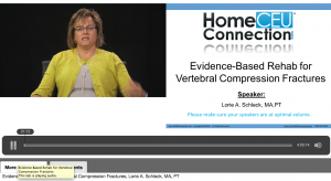 Evidence Based Rehab for Vertebral Compression Fractures